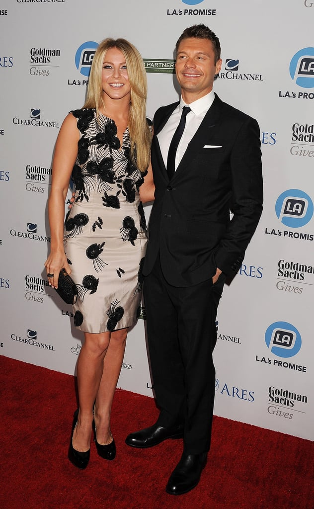 Julianne Hough stepped out in honor of Ryan Seacrest at the 2011 Promise Gala.