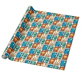 Harry Potter Cartoon Hogwarts Wrapping Paper