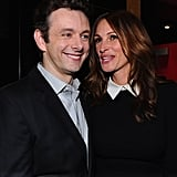 Julia Roberts and Michael Sheen chatted together at the Jesus Henry Christ premiere.