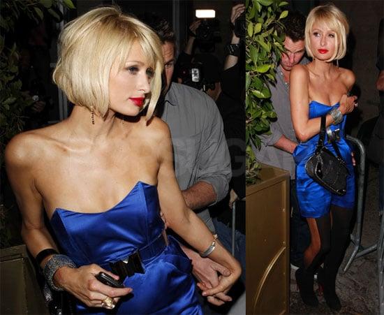 Photos of Paris Hilton and Doug Reinhardt Out to Dinner in LA