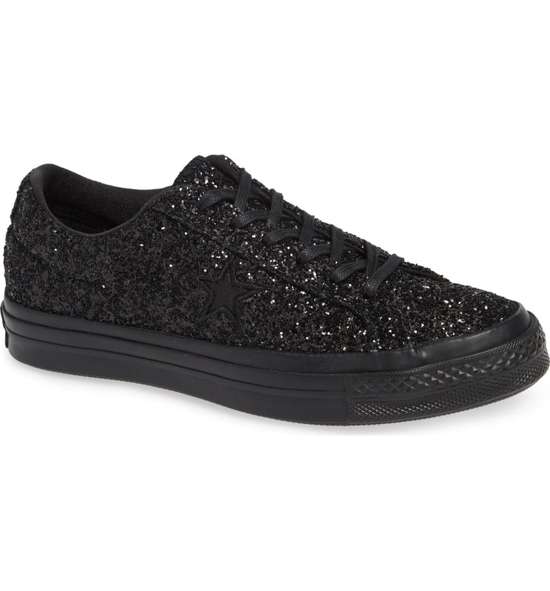 cae47d7daaf2 Converse Chuck Taylor All Star One Star Glitter Low Top Sneaker ...