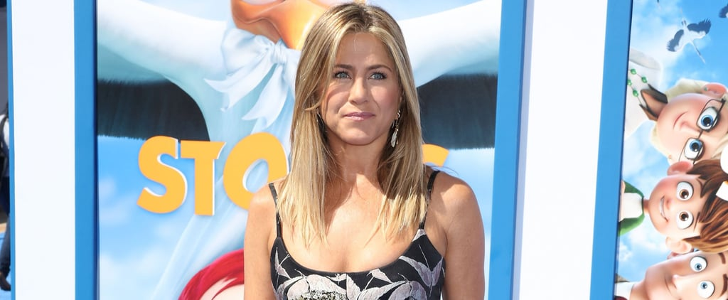 You'll See the Best Part of Jennifer Aniston's Mini Dress When She Turns to the Side