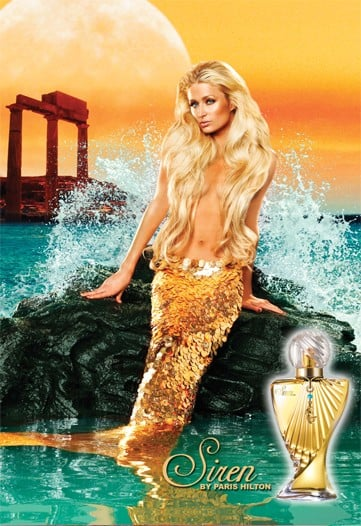Paris Hilton Siren Mermaid Ad Photo: Details on Paris's New Perfume, Siren