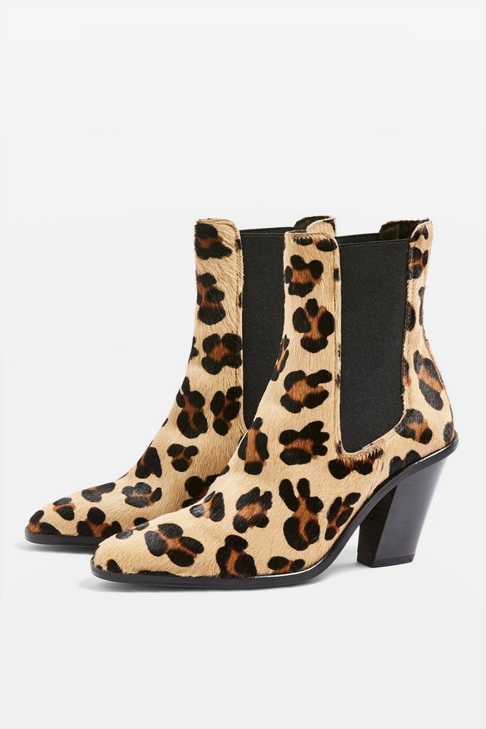 8489ad63d18 Topshop Morty Leopard Print Ankle Boots | Where Can I Buy Leopard ...