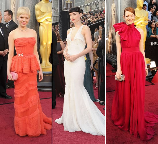 Pictures of all the Celebrity Arrivals at the 2012 Academy Awards: Sarah Hyland, Guiliana Rancic, MillaJovovich & More!