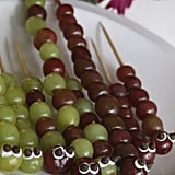 Caterpillar Grape Kabobs