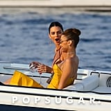 Kendall Jenner and Bella Hadid Cannes Yacht Photos May 2019
