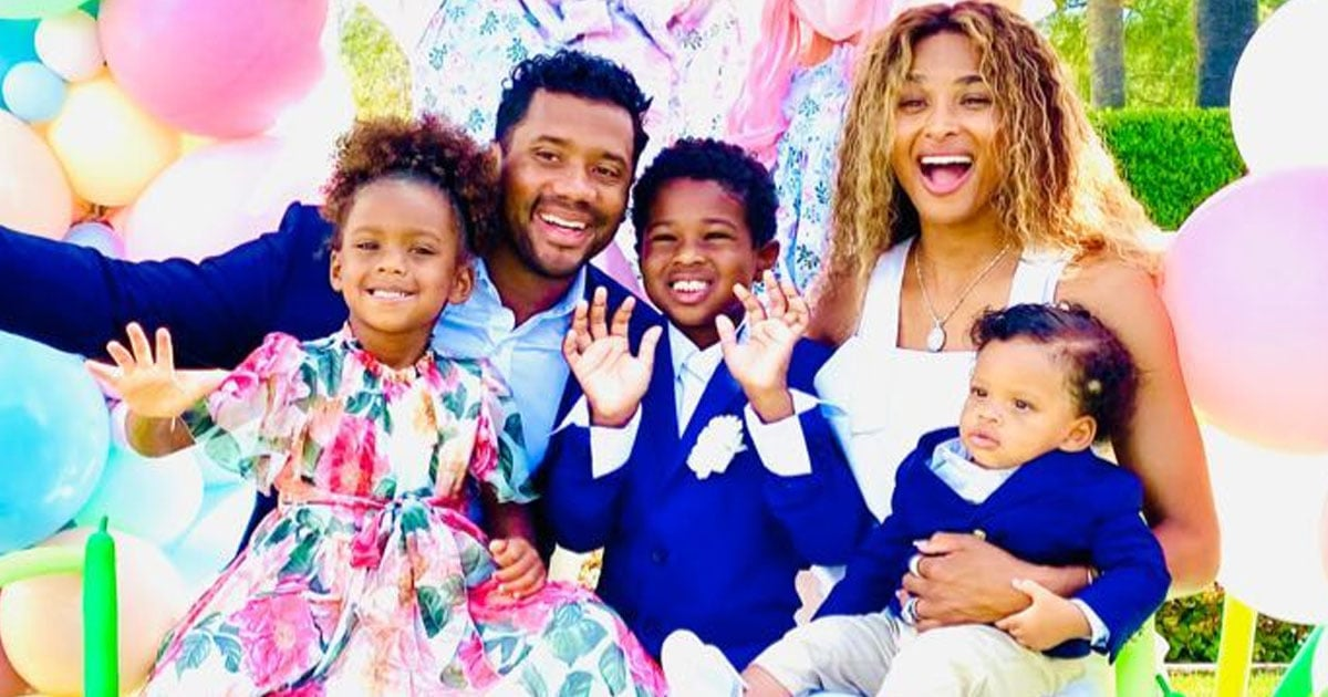 Ciara and Russell Wilson Invited the Easter Bunny Over to Celebrate Win's First Easter Sunday.jpg