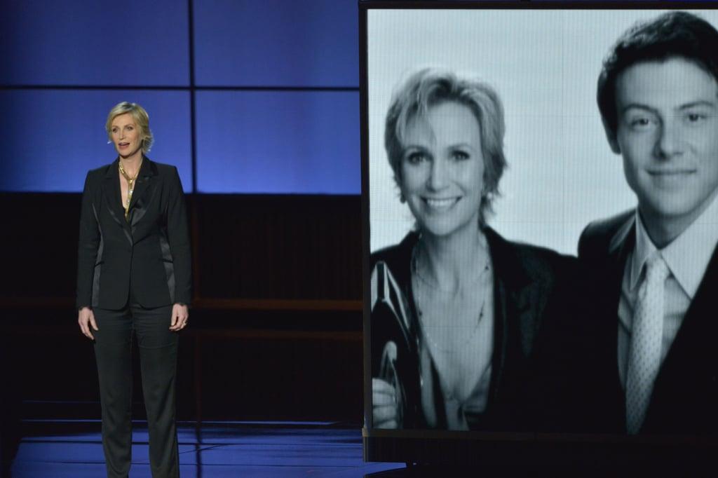 Jane Lynch at the 2013 Emmy Awards