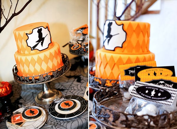 A Bewitchin' Witch Cake