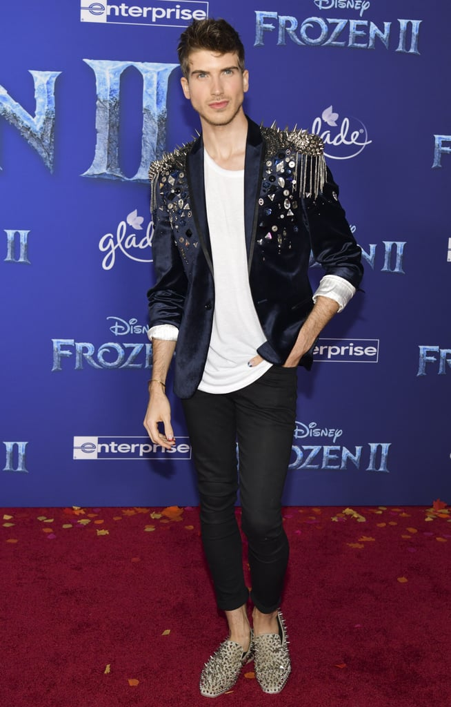 Joey Graceffa at the Frozen 2 Premiere in Los Angeles