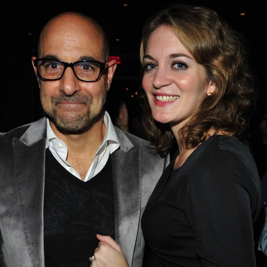Stanley Tucci Engagement Ring Pictures With Felicity Blunt
