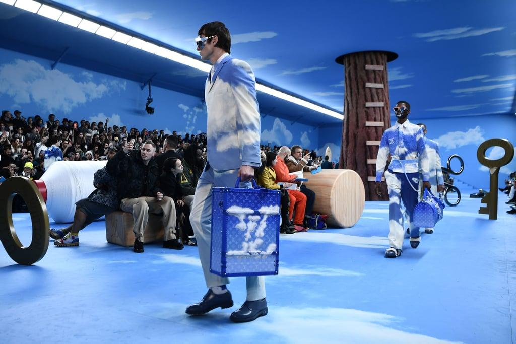 Louis Vuitton Menswear Show Cloud Accessories Fall 2020