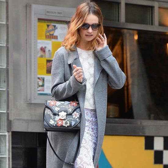 Sienna Miller Wearing a Gucci Bag