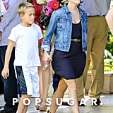 Reese Witherspoon Spends Time With Her Family Before Getting Wild