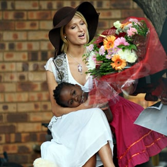 Paris Hilton Visits an Orphanage in South America