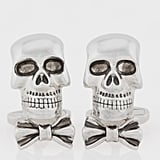 Up his jewelry game with a pair of Paul Smith skull cufflinks ($150).