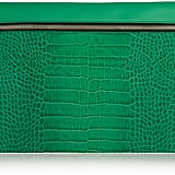 Victoria Beckham Croc-Effect Leather Clutch ($750)