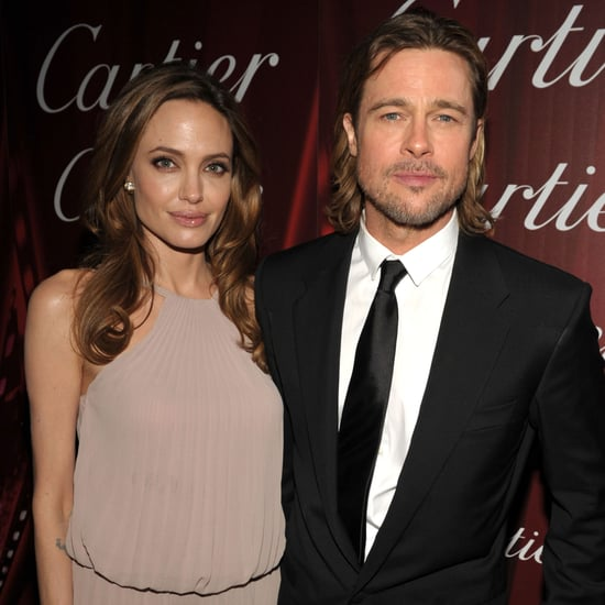 Angelina Jolie and Brad Pitt Pictures Palm Springs Film Fest