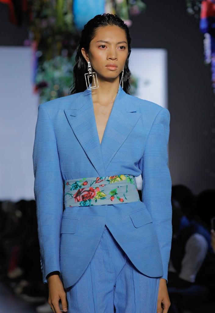 A Belt on the Prabal Gurung Runway at New York Fashion Week