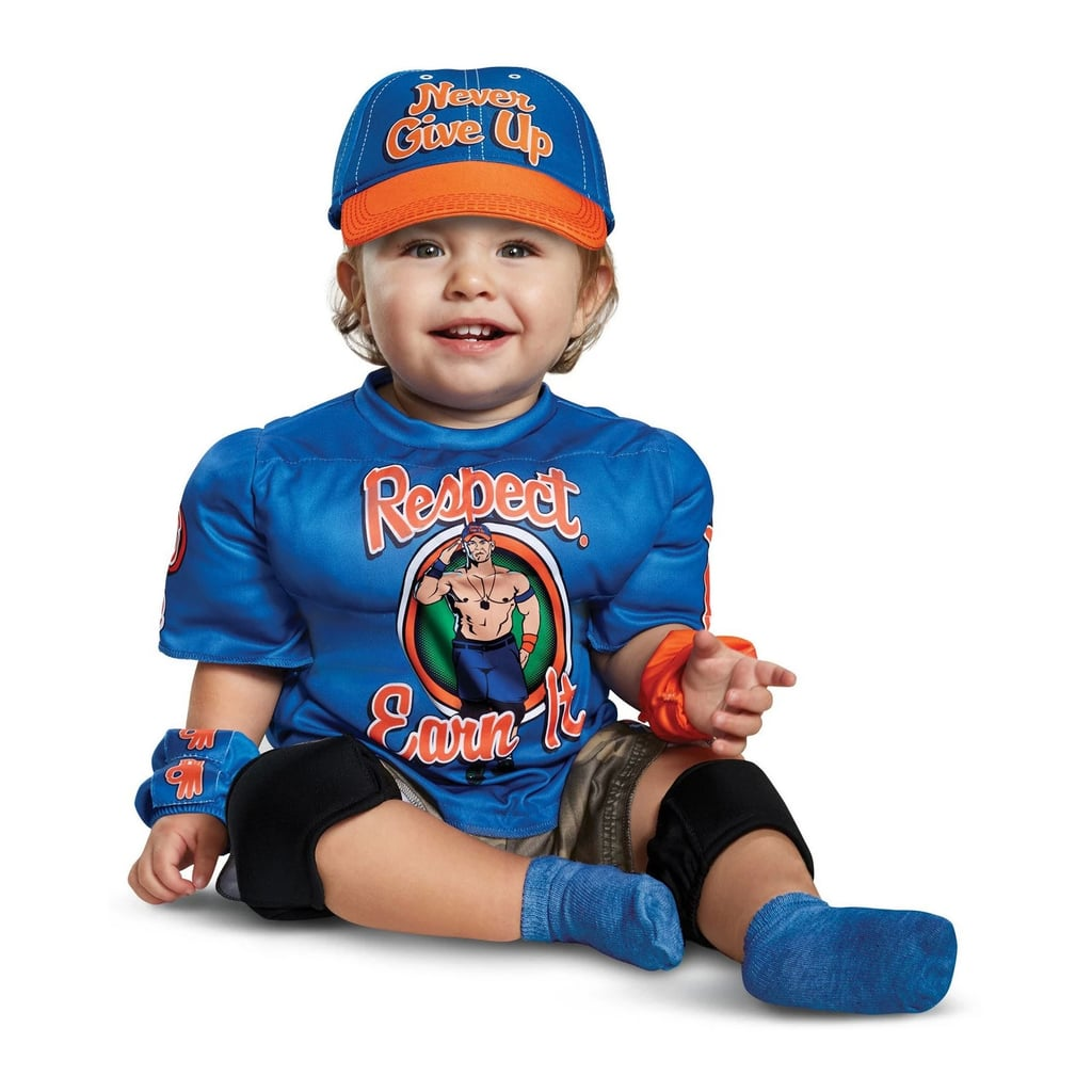 baby kids wwe john cena infant muscle halloween costume