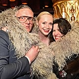 Gwendoline Christie and Giles Deacon Pictures