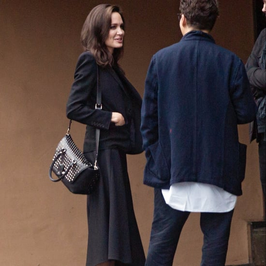 Angelina Jolie Studded Valentino Bag