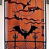Bat & Spiderweb Door Cover