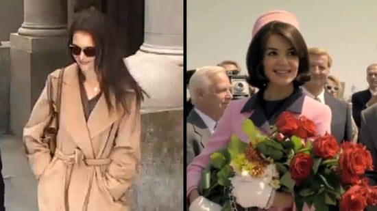 Video: Katie Holmes as Jackie O in the Extended Kennedys Trailer