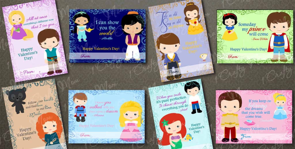 32 Noncandy Disney Valentine's Day Card Ideas For Kids