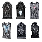 LED Illuminated Halloween Graveyard Tombstone Assortment ($17)