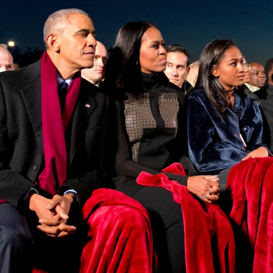 Michelle Obama's Top at the National Tree Lighting 2016