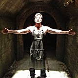 American Horror Story's Dylan McDermott used Twitter to out himself as the modern day Bloody Face. Source: Dylan McDermott on WhoSay