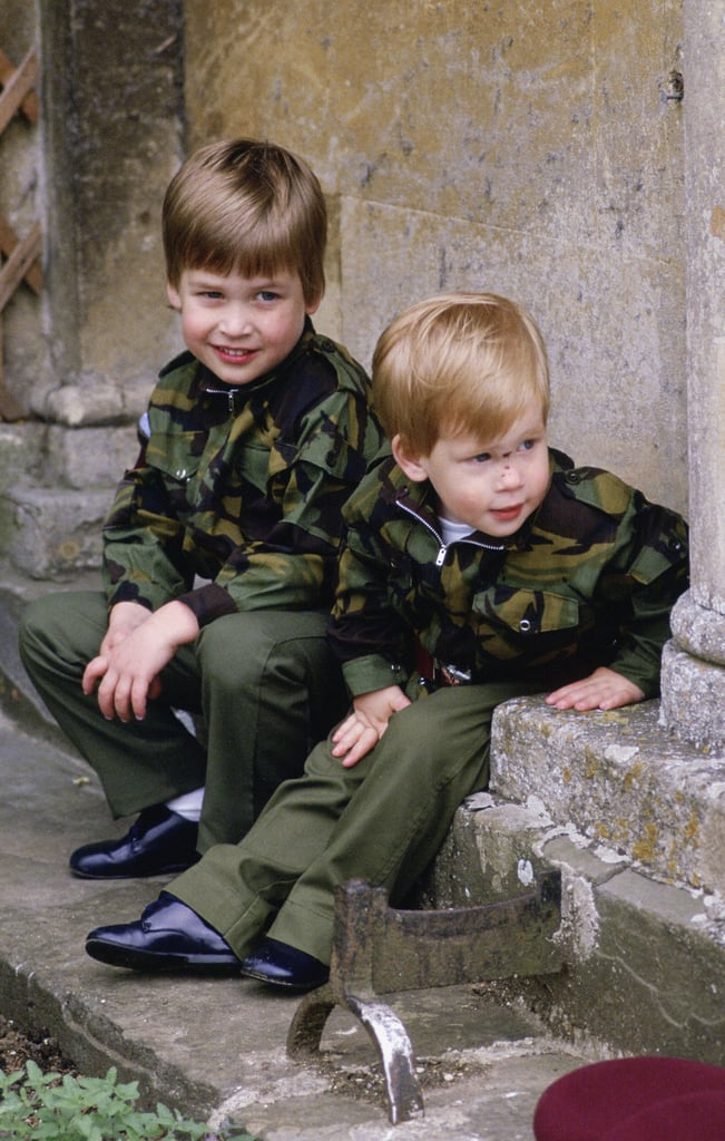 """Prince William became a big brother in September 1982 when his brother Harry was born, and from the start, the two have been nearly inseparable. Thanks to the modern royal parenting of their late mother, Princess Diana, the boys were afforded a lifestyle that was far more normal than was customary at the time — they were often photographed on beach vacations, at theme parks, and even at McDonald's with their adoring mom. After her death in 1997, the brothers' bond became even tighter. """"We have been brought closer as a result of the circumstances,"""" Harry has said. """"You are uniquely bonded because of what we've been through.""""       Related:                                                                                                           13 Sweet, Heartbreaking Things William and Harry Have Said About Princess Diana               Harry was right by his brother's side when he married Kate Middleton in 2011, and much like Kate and her sister Pippa, the young royals have remained incredibly close even after the big day — Harry doesn't even mind third-wheeling it with the couple on official appearances and charity visits. But even before Kate came along, these guys were two peas in a royal pod — and we know. Take a look back at all of Harry and William's cutest brotherly moments."""