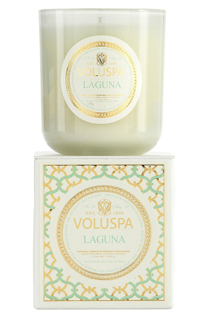 You won't know if you're stepping into your house or hot velvety sand along the SoCal coast when you light the Laguna candle ($27).