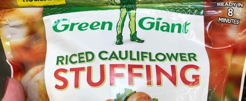 Go Low-Carb With Green Giant Riced Cauliflower Stuffing