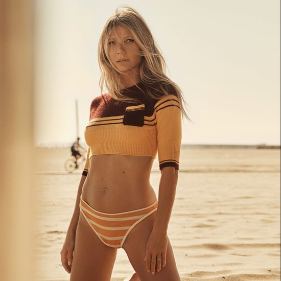 Gwyneth Paltrow Orange Bikini WSJ. Magazine