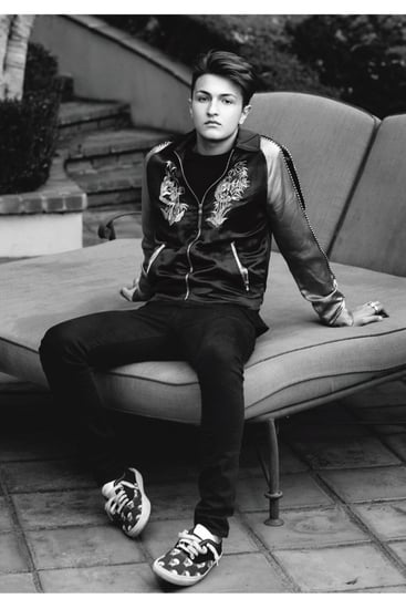 Anwar Hadid In L'Uomo Vogue January 2016