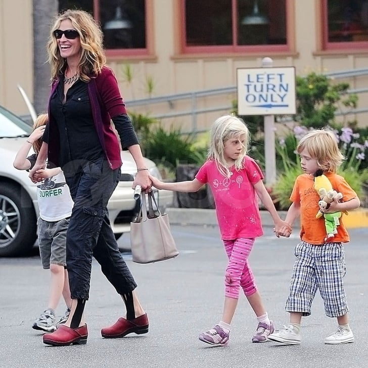 Julia Roberts Pictures With Children Hazel Phin And Henry