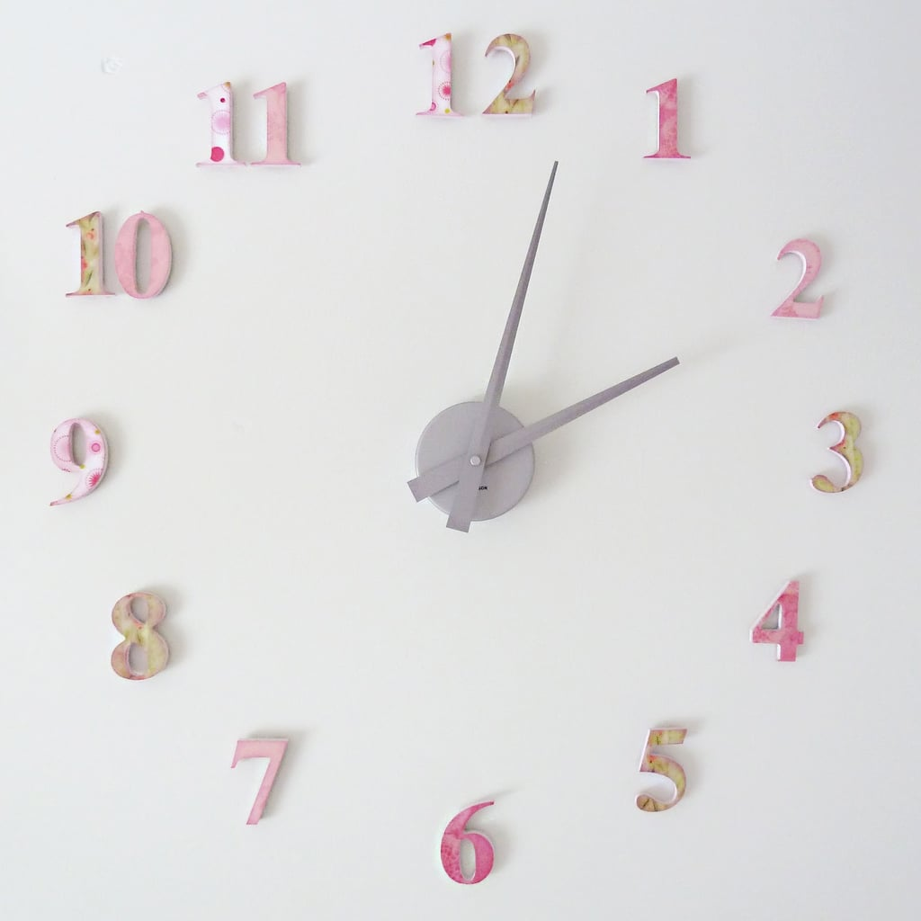 A floating wall clock kids room diy projects popsugar moms a floating wall clock amipublicfo Gallery