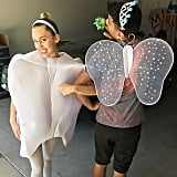 Miley Cyrus and Her Friend as a Tooth Fairy