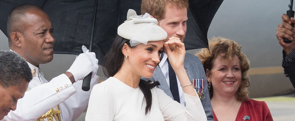 Meghan Markle Zimmerman Dress Australia Tour October 2018