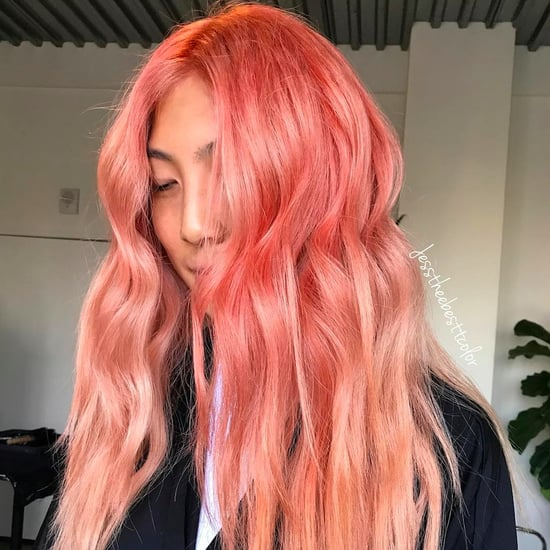Salmon Sushi Hair Colour Instagram Trend