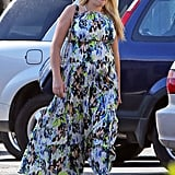 Busy Philipps sported a pair of sunglasses and flats.