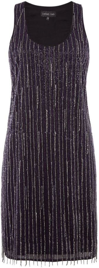 Label Lab Beaded Flapper Dress