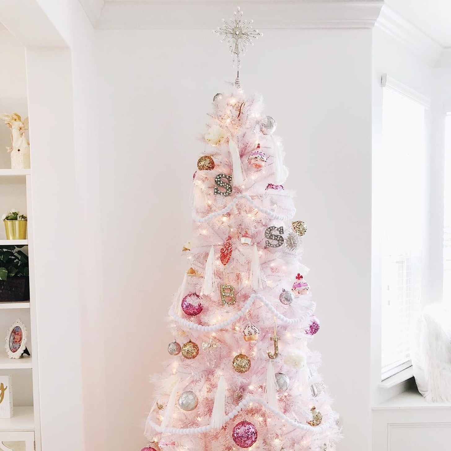 White Christmas Tree Design.White Christmas Tree Ideas Popsugar Home