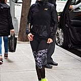 Jennifer Lopez's Neon Sneakers May 2017 Pictures