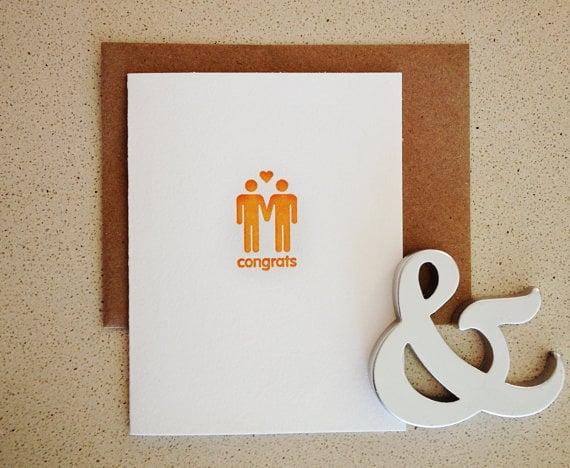 Couple's congrats ($4)