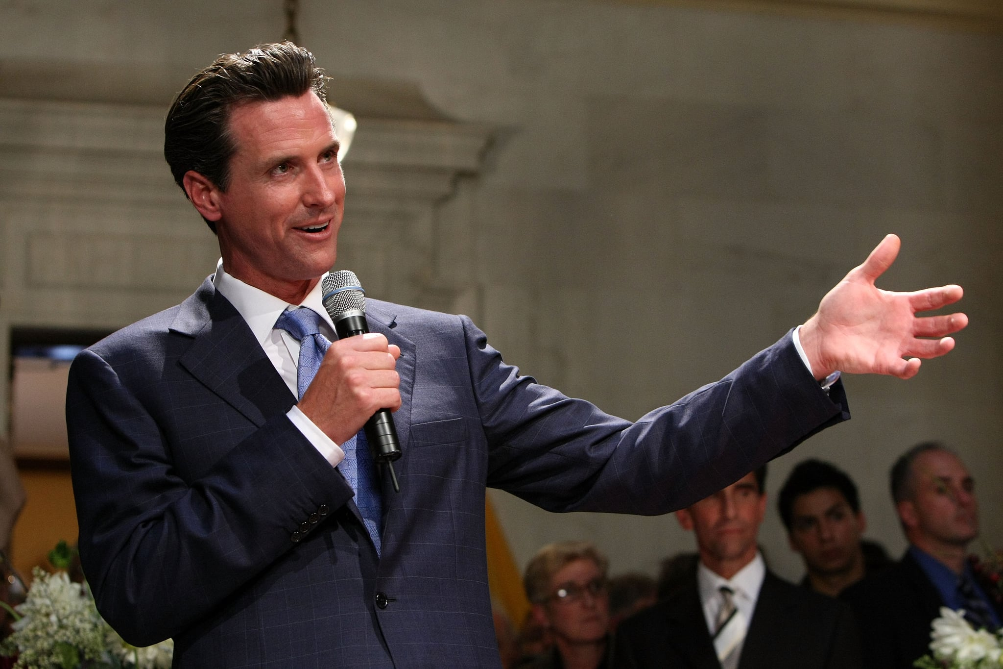 from Dallas gay marriage gavin newsom