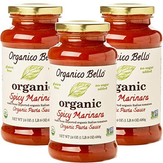 This Organic Spicy Sauce